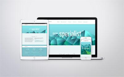 Webbplats - Symbioteq
