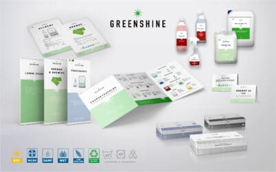 Grafisk Profil - Greenshine Exempel